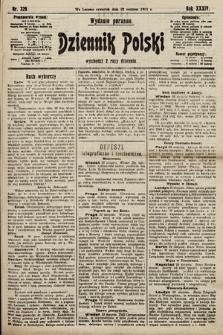 Dziennik Polski (wydanie poranne). 1901, nr329