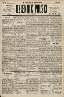 Dziennik Polski (wydanie popołudniowe). 1901, nr330