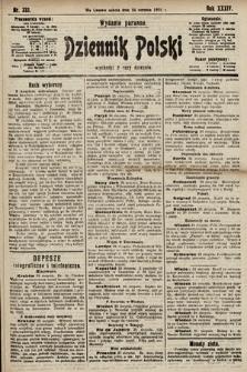 Dziennik Polski (wydanie poranne). 1901, nr333