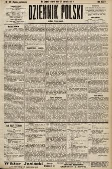 Dziennik Polski (wydanie popołudniowe). 1901, nr336