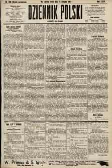 Dziennik Polski (wydanie popołudniowe). 1901, nr338