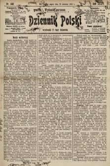 Dziennik Polski (wydanie poranne). 1901, nr343