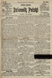 Dziennik Polski (wydanie poranne). 1901, nr345
