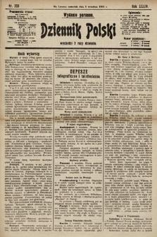 Dziennik Polski (wydanie poranne). 1901, nr353