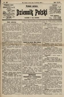 Dziennik Polski (wydanie poranne). 1901, nr357