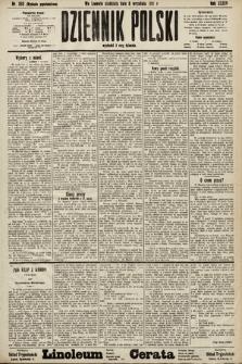 Dziennik Polski (wydanie popołudniowe). 1901, nr358
