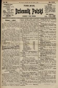 Dziennik Polski (wydanie poranne). 1901, nr365