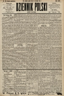 Dziennik Polski (wydanie popołudniowe). 1901, nr366