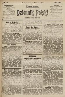 Dziennik Polski (wydanie poranne). 1901, nr373