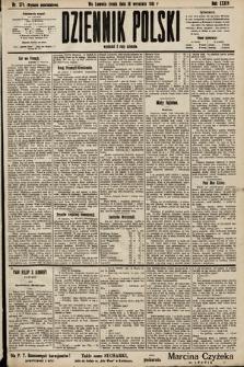 Dziennik Polski (wydanie popołudniowe). 1901, nr374