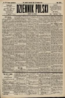Dziennik Polski (wydanie popołudniowe). 1901, nr376
