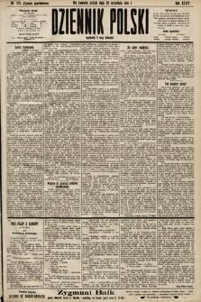 Dziennik Polski (wydanie popołudniowe). 1901, nr378