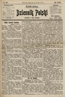 Dziennik Polski (wydanie poranne). 1901, nr379