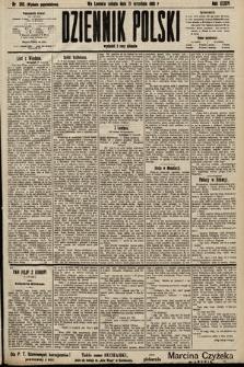 Dziennik Polski (wydanie popołudniowe). 1901, nr380