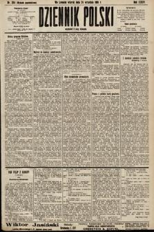 Dziennik Polski (wydanie popołudniowe). 1901, nr384