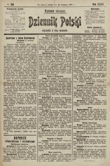 Dziennik Polski (wydanie poranne). 1901, nr385