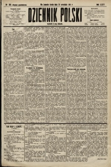 Dziennik Polski (wydanie popołudniowe). 1901, nr386