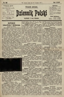 Dziennik Polski (wydanie poranne). 1901, nr387