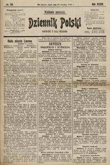 Dziennik Polski (wydanie poranne). 1901, nr391