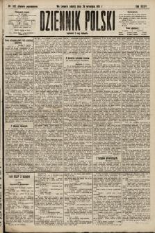 Dziennik Polski (wydanie popołudniowe). 1901, nr392