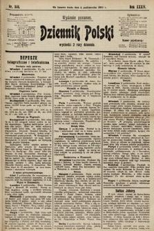 Dziennik Polski (wydanie poranne). 1901, nr399