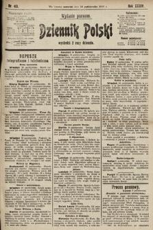 Dziennik Polski (wydanie poranne). 1901, nr413