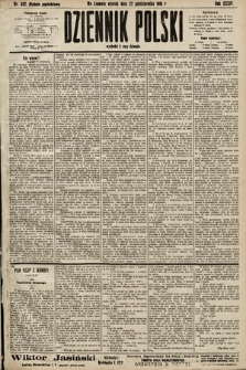 Dziennik Polski (wydanie popołudniowe). 1901, nr432