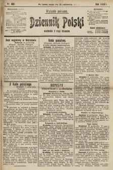 Dziennik Polski (wydanie poranne). 1901, nr433