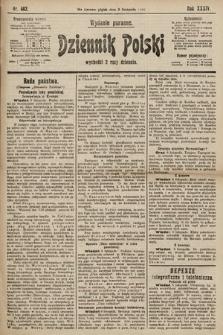 Dziennik Polski (wydanie poranne). 1901, nr462