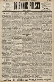 Dziennik Polski (wydanie popołudniowe). 1901, nr471