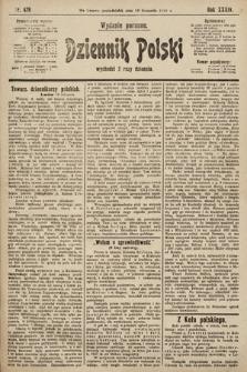 Dziennik Polski (wydanie poranne). 1901, nr478