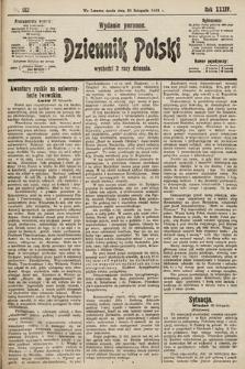 Dziennik Polski (wydanie poranne). 1901, nr482
