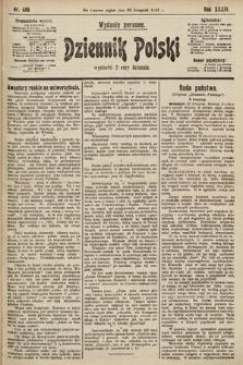 Dziennik Polski (wydanie poranne). 1901, nr486