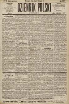 Dziennik Polski (wydanie popołudniowe). 1901, nr493