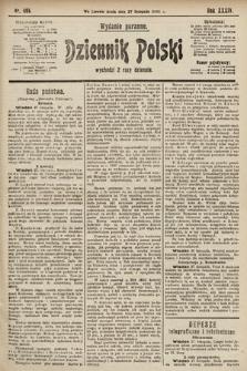Dziennik Polski (wydanie poranne). 1901, nr494