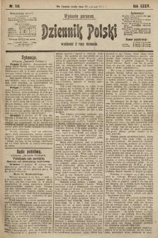 Dziennik Polski (wydanie poranne). 1901, nr518