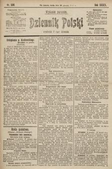 Dziennik Polski (wydanie poranne). 1901, nr530