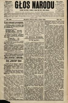 Głos Narodu : dziennik polityczny, założony w roku 1893 przez Józefa Rogosza (wydanie południowe). 1901, nr102