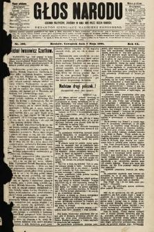 Głos Narodu : dziennik polityczny, założony w roku 1893 przez Józefa Rogosza (wydanie południowe). 1901, nr105