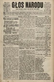 Głos Narodu : dziennik polityczny, założony w roku 1893 przez Józefa Rogosza (wydanie południowe). 1901, nr171