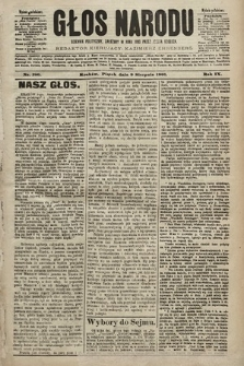 Głos Narodu : dziennik polityczny, założony w roku 1893 przez Józefa Rogosza (wydanie południowe). 1901, nr180
