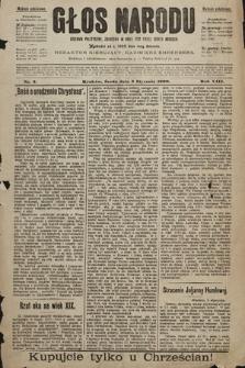 Głos Narodu : dziennik polityczny, założony w roku 1893 przez Józefa Rogosza (wydanie południowe). 1900, nr2