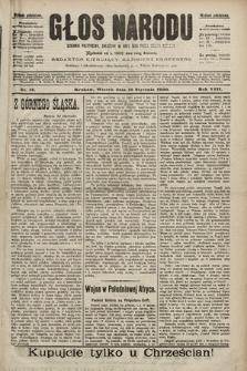Głos Narodu : dziennik polityczny, założony w roku 1893 przez Józefa Rogosza (wydanie południowe). 1900, nr12