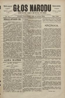 Głos Narodu : dziennik polityczny, założony w roku 1893 przez Józefa Rogosza (wydanie poranne). 1900, nr40