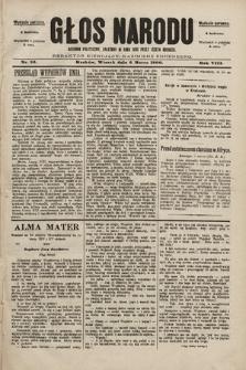 Głos Narodu : dziennik polityczny, założony w roku 1893 przez Józefa Rogosza (wydanie poranne). 1900, nr53