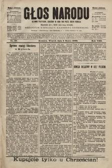 Głos Narodu : dziennik polityczny, założony w roku 1893 przez Józefa Rogosza (wydanie południowe). 1900, nr53
