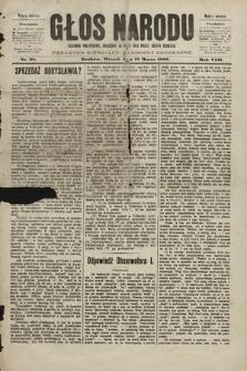 Głos Narodu : dziennik polityczny, założony w roku 1893 przez Józefa Rogosza (wydanie wieczorne). 1900, nr58