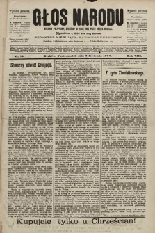 Głos Narodu : dziennik polityczny, założony w roku 1893 przez Józefa Rogosza (wydanie poranne). 1900, nr76