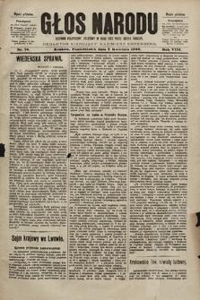 Głos Narodu : dziennik polityczny, założony w roku 1893 przez Józefa Rogosza (wydanie południowe). 1900, nr76