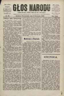 Głos Narodu : dziennik polityczny, założony w roku 1893 przez Józefa Rogosza (wydanie południowe). 1900, nr93